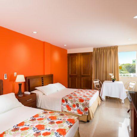 Habitación Interna —Hotel Bahía Sardina, San Andrés Isla, Colombia (http://www.bahiasardina.com). Fotografía: Mario Carvajal / Julián Santacruz www.fotur.org